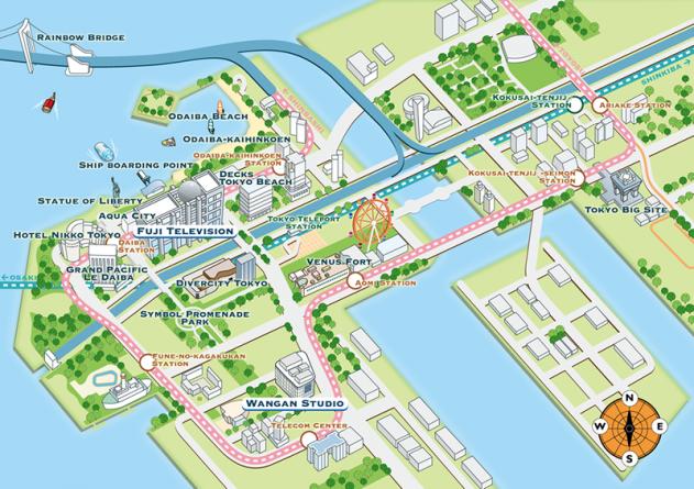 Plan de Odaiba